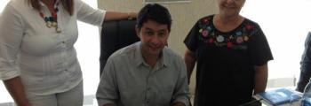 Prefeitura fecha parceria com Emater