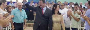 Prefeito e Vereadores tomaram posse em Inhumas no último domingo