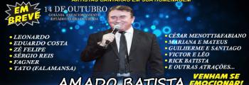 Artistas consagrados cantarão músicas do cantor Amado Batista