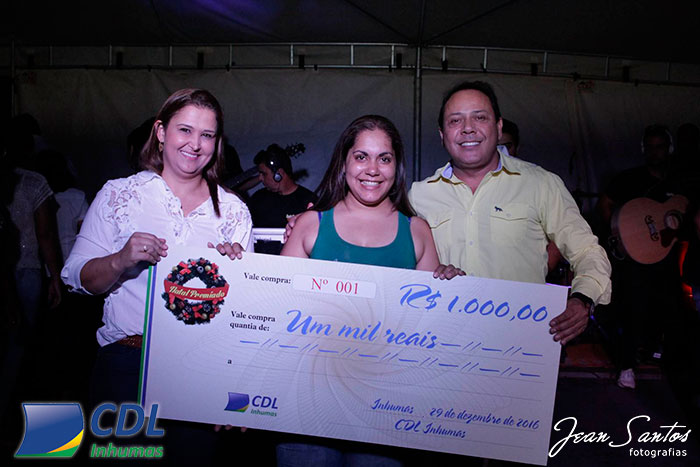 Natal Premiado CDL Inhumas 2016 - Foto 7