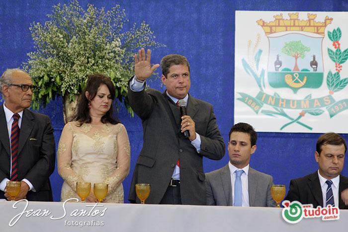 Abelardo Vaz, prefeito eleito para governar Inhumas pelos próximos 4 anos